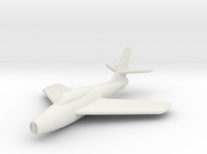 JA02 (ver2) Republic F-84F (1/285) 3d printed