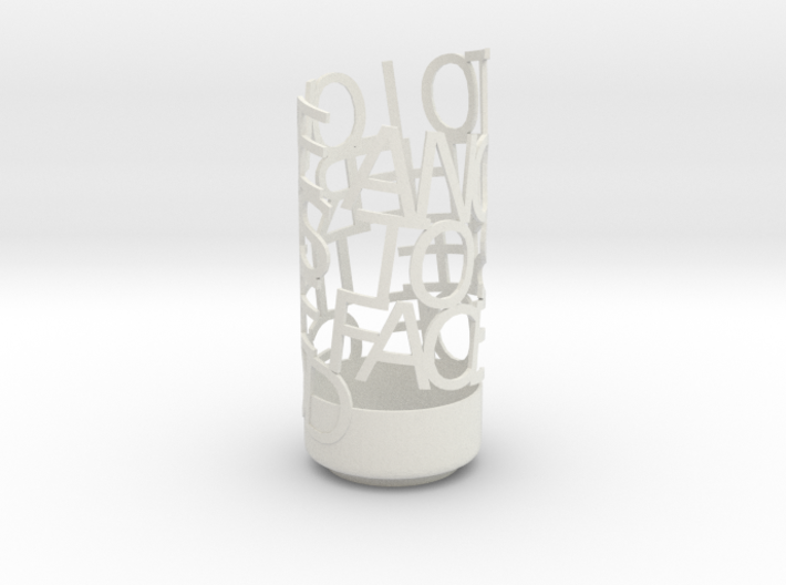 Light Poem - 60th Anniversary 3d printed