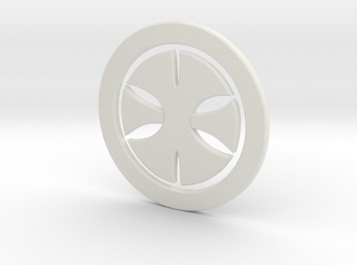 200xcross 3d printed