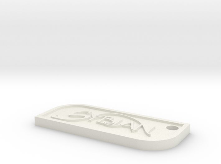 Sybian Keychain 3d printed