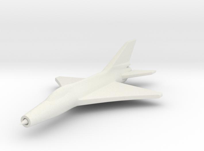 1/285 (6mm) J-7 Shenyang Fighter 3d printed