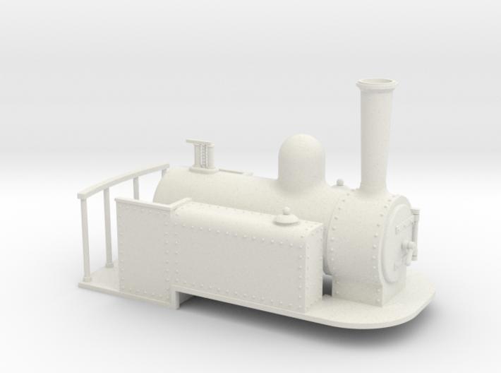 Gn15 Spooner side tank 3d printed