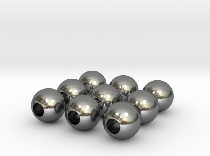 9 Beads 3d printed
