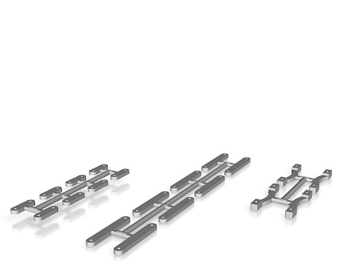 Laschen für Drehgestell Bauart Wismar IIf 3d printed