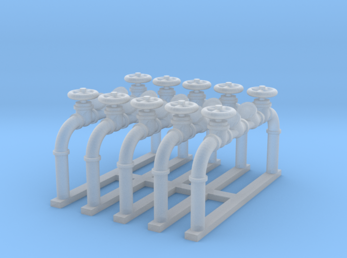 Pipes 1 - Zscale 3d printed