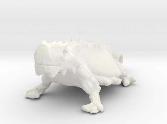 TEXAS Honed Frog 3d printed
