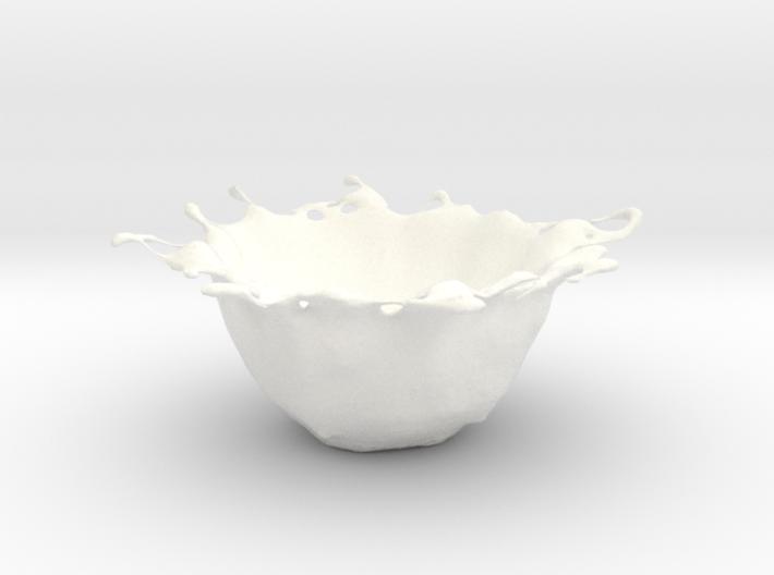 organic bowl 3d printed