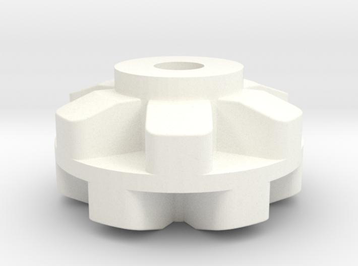 Pololu 6 Cog Wheel For Axle 3d printed