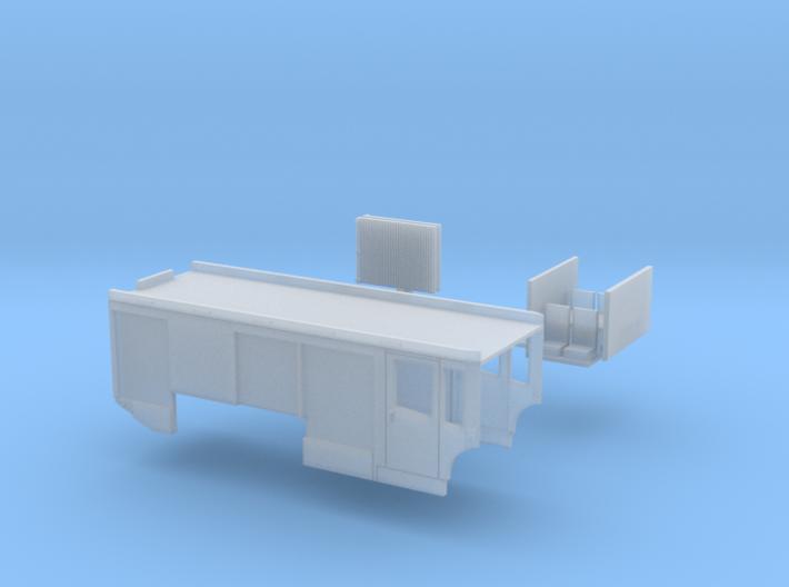 Industrielöschfahrzeug passend für MB Econic 3d printed