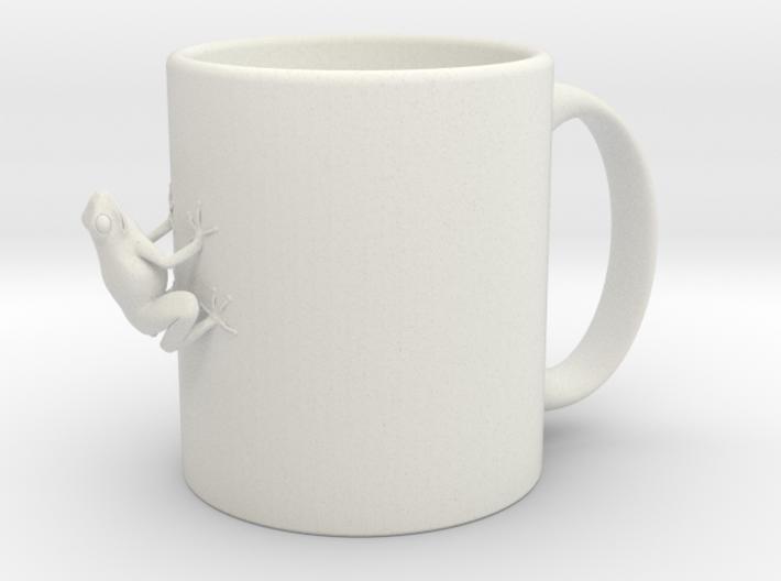 Cup-frog 3d printed