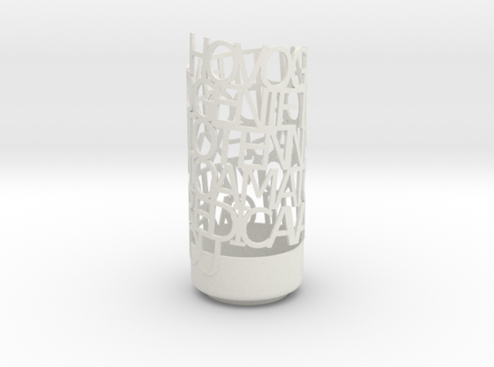 Light Poem for Marco 3d printed