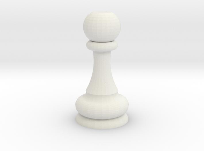 khalyb pawn 3d printed
