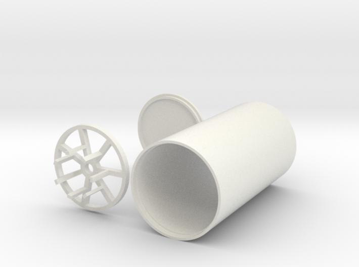 Graflex battery/speaker/soundboard case 3d printed