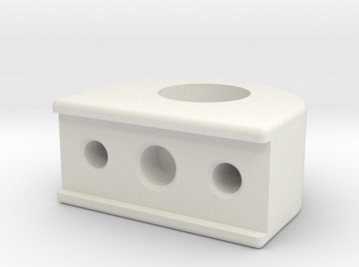 Blattfedernhalter kurz 3d printed