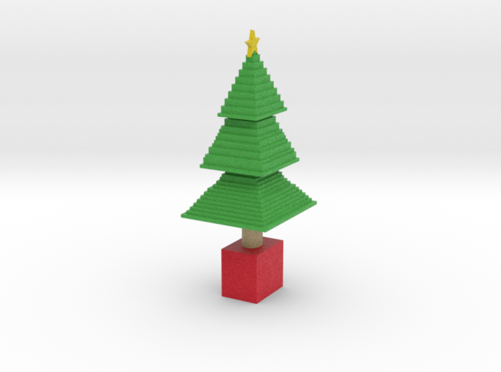 chrisy tree small 3d printed
