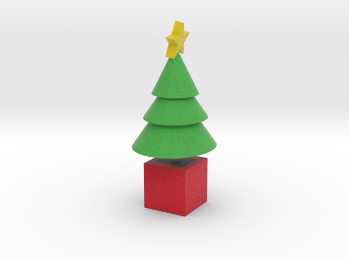 Star Cone Xmas Tree 3d printed