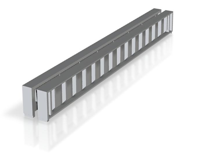 Bridge N girder 1 3d printed