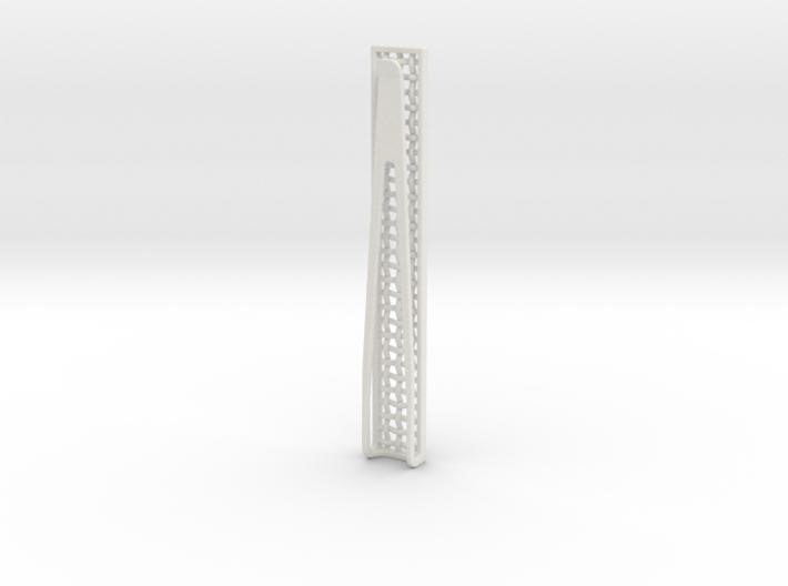 Mesh Tie Slide 3d printed