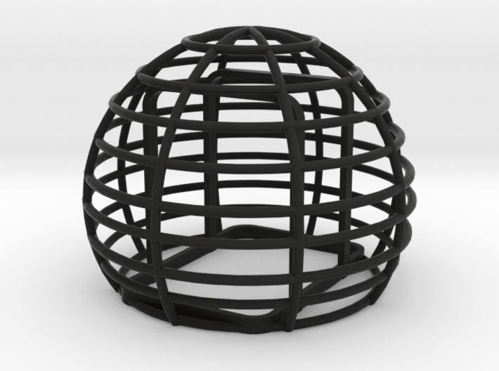 Basket windshield for Zoom H2N 3d printed