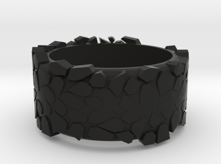 rock ring 3d printed