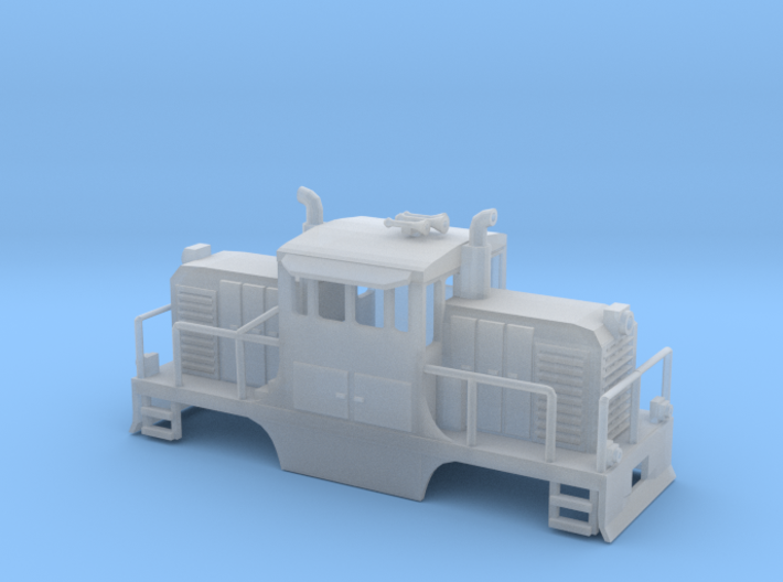 GE-44 Ton Switcher 3d printed