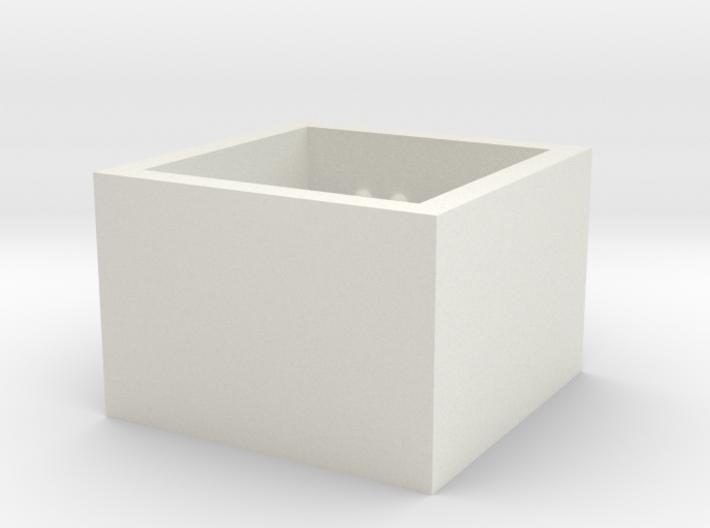 SquareRing_CarpeDiem_Int_17mmx15mm 3d printed