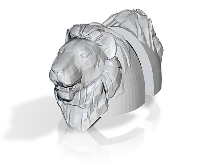 Lion Heroic Heavy Shoulders Pair (x1) 3d printed