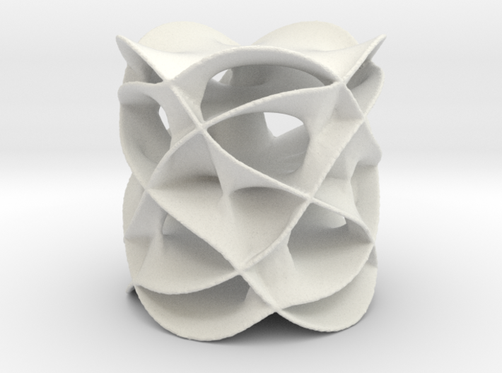 Riemann Surface 2 3d printed