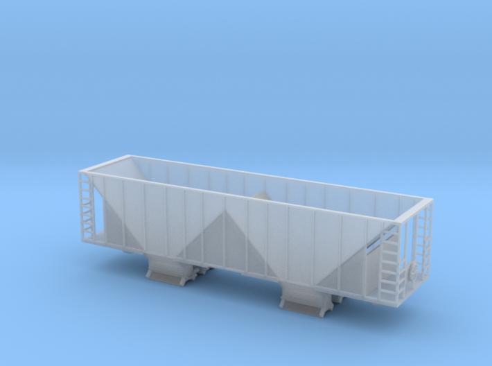 Ballast Hopper Car - N scale 3d printed