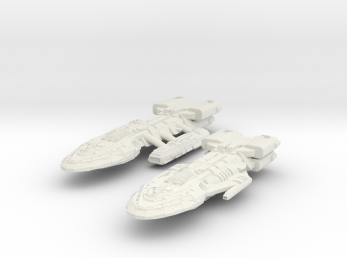 BattleHvyCruiser & BattleCruiser 3d printed