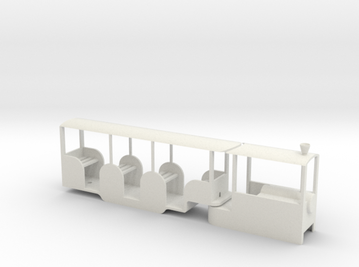 Min Rail Railcar 3d printed
