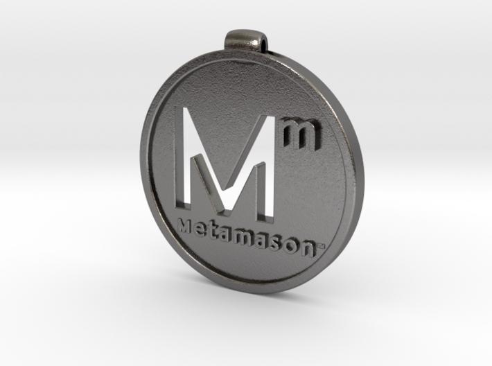 Metamason logo 3d printed