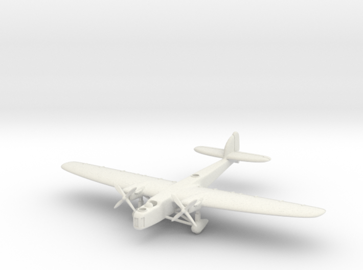 Dornier Do 23 6mm 1/285 3d printed