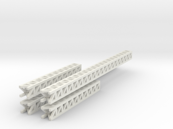 Very Long Modular Structures 3d printed