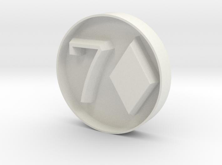 7D stamp 3d printed
