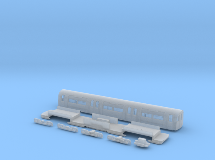 NT95UNp 1:148 95 tube stock UNDM (powered) 3d printed