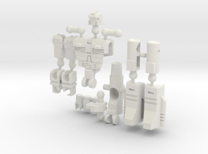 """""""Dustup"""" Gunslinger figure - Version 2 3d printed"""