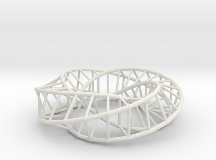Moebius Square | Napkin Ring 3d printed