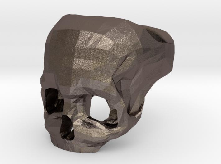 Skull Ring US 6 3d printed