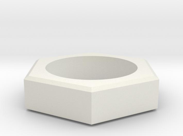 sechskant 3d printed