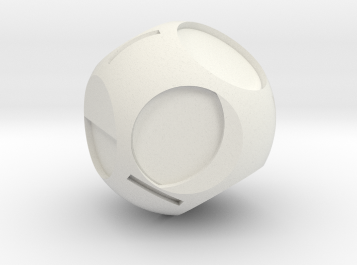 Moon Phase D8 3d printed