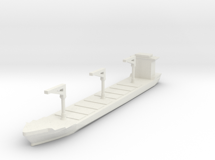 Xiamen Container Ship 1:2400 3d printed