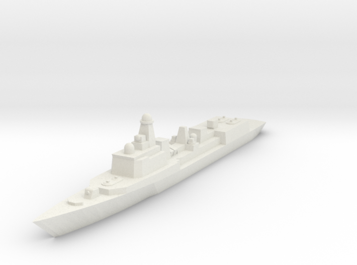 051C PLAN Destroyer 1:2400 x1 3d printed