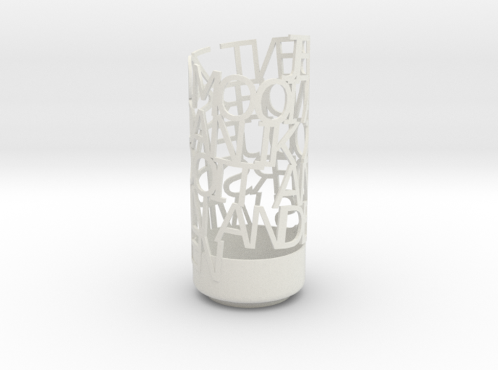 Light Poem hou 3d printed