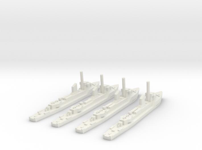 German Sleipner class (4 ships) 1:1800 3d printed