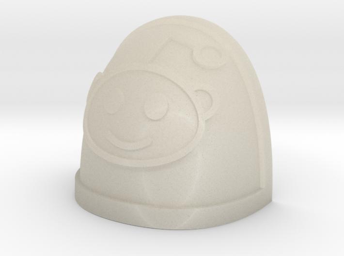 Reddit Alien shoulder Pad 3d printed