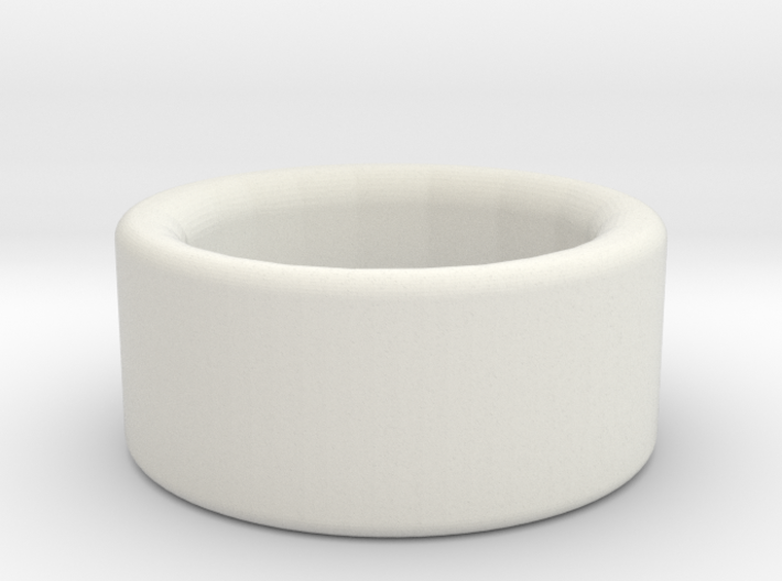 Jude Burford ring stainless steel 3d printed