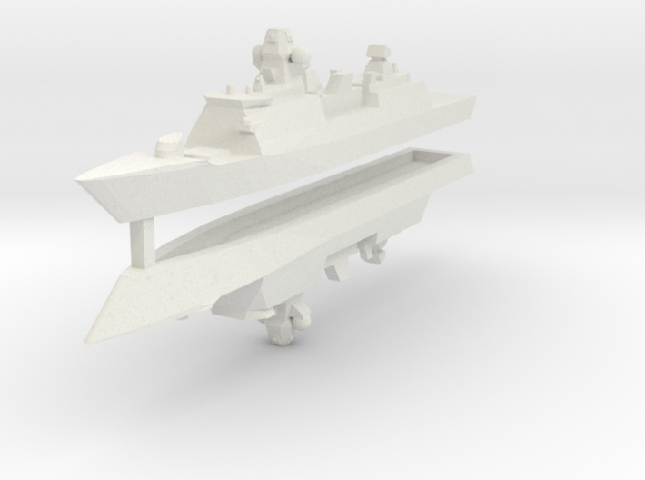 De Zeven Provinciën class frigate 1:3000 x2 3d printed