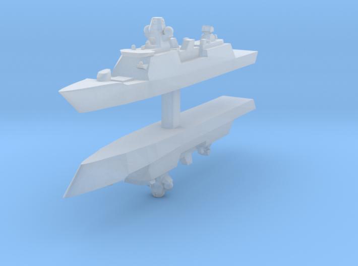 De Zeven Provinciën class frigate 1:4800 x2 3d printed