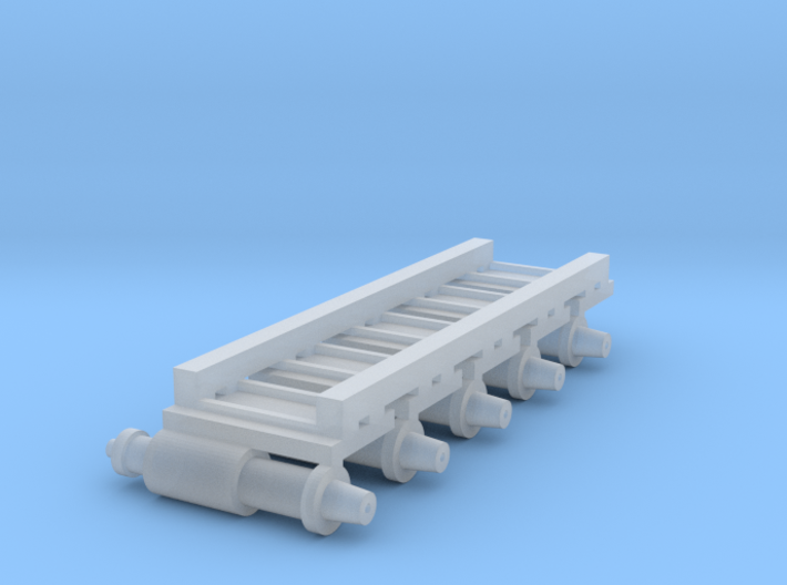 Air Brake (x5) for HOn3/30 Freight stock 3d printed